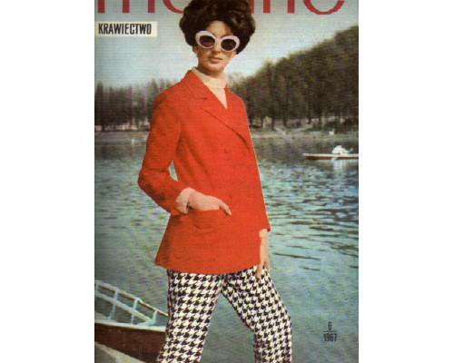 Modne Krawiectwo. (Модное шитье). №6 . 1967