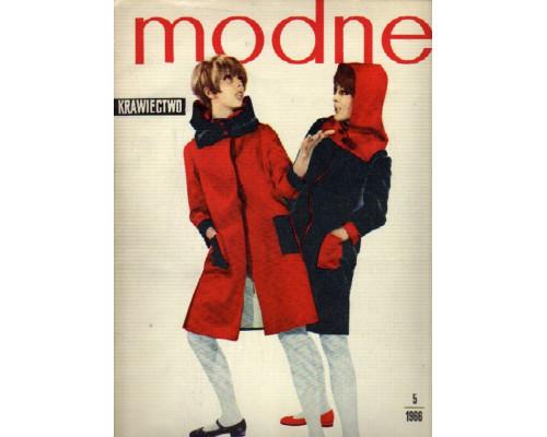 Modne Krawiectwo. (Модное шитье). №5. 1966