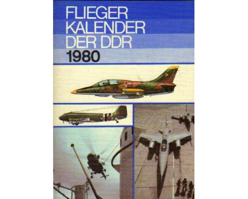 Flieger kalender der DDR. 1980. Авиационный альманах 1980 года