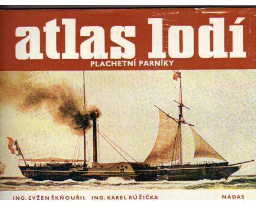 Atlas lodi - plachtni parniky. (Парусные пароходы)