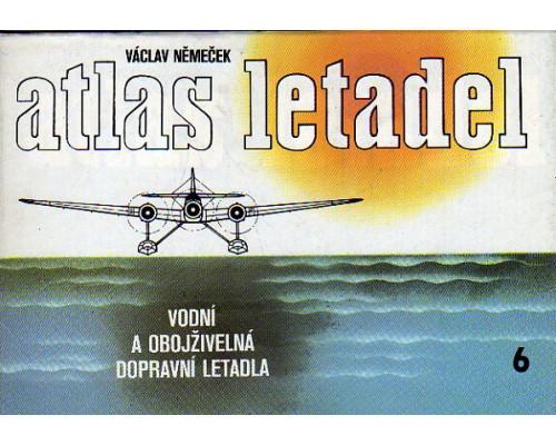 Atlas letadel 6. Vodni a obojzivelna dopravni letadla. Атлас самолетов, т 6. Пассажирские гидросамолеты и амфибии