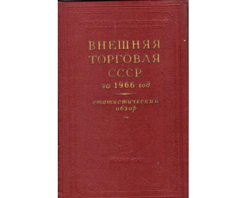 Внешняя торговля СССР за 1966 год