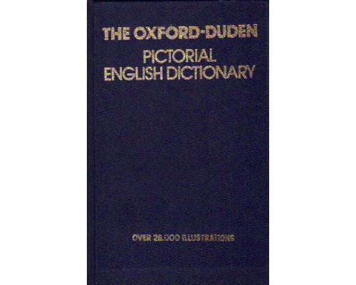 The oxford-duden pictorial english dictionary./ Картинный словарь современного английского языка Оксфорд-Дуден.