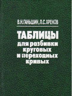Книга Таблицы для разбивки круговых и переходных кривых. по цене 320.00 р.