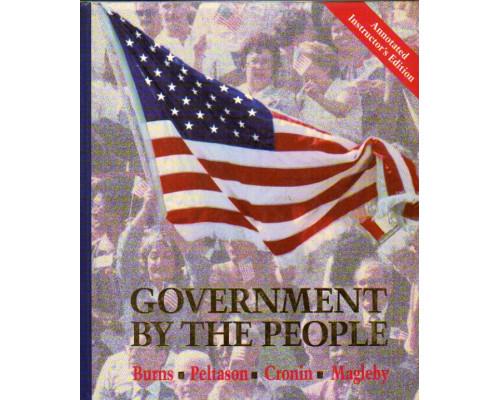 GOVERNMENT BY THE PEOPLE National State and Local Version. Правительство для народа. Национальный и местный вариант