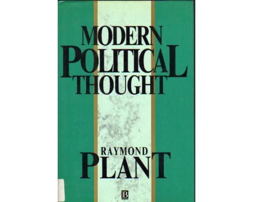 Modern Political Thought. Современная политическая мысль