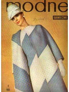 Modne Krawiectwo. (Модное шитье). №6. 1966