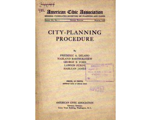 City-planning procedure.