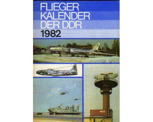 Flieger kalender der DDR. 1982. Ежегодник. Авиация ГДР. 1982 год