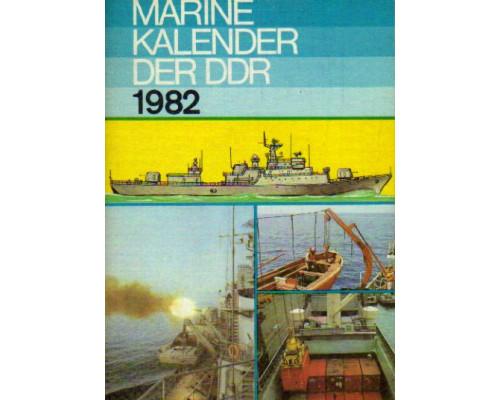Marine-kalender der DDR 1982. Морской альманах ГДР 1982 года