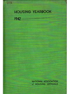 Housing Yearbook. Ежегодник жилищного строительства