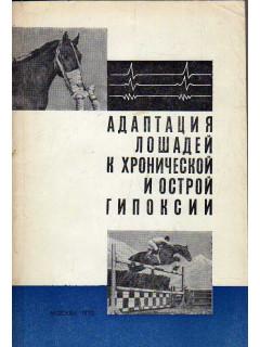 Адаптация лошадей к хронической и острой гипоксии